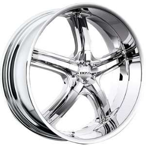 Boss 333 22x9 Chrome Wheel / Rim 5x4.5 with a 12mm Offset and a 82.80