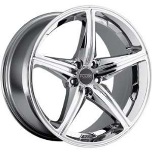 Speed 18x8 Chrome Wheel / Rim 5x4.5 with a 30mm Offset and a 72.60