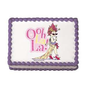 Fancy Nancy Edible Cake Image Birthday Party