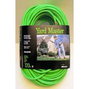 Garden Extension Cord (Lime Green. 10 Amp   2 Prong)