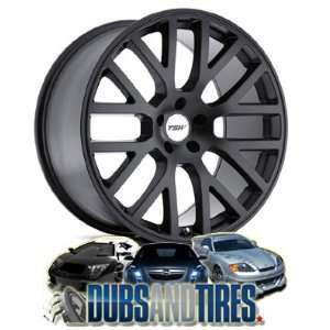 17 Inch 17x7 TSW wheels DONNINGTON Matte Black wheels rims