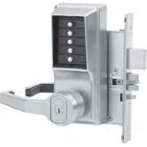 Lever Mechanical Pushbutton Lock Key Bypass Mortise