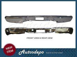 99 07 06 05 CHEVY SILVERADO PICKUP REAR BUMPER CHROME