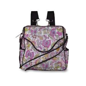 Baby Kaed   Dhara Diaper Bag In Double Happiness Baby