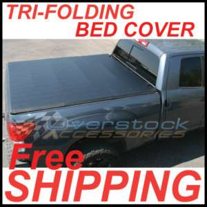 TRI FOLD Tonneau Cover 1988 2007 Silverado / Sierra 6.5ft Short Bed