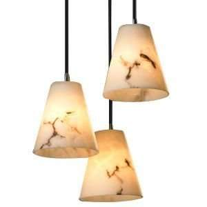 Justice Design Group LumenAria 3 Light Cluster Cone Pendant R105650