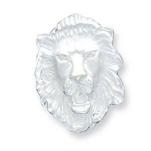 Sterling Silver Lion Head Charm Jewelry