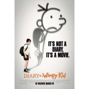 Diary of a Wimpy Kid Original Movie Poster Regular Style