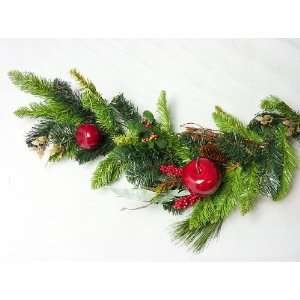 Pack of 2 Apple Berry Pine Artificial Christmas Garlands