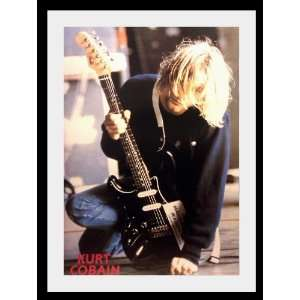 Nirvana Kurt Cobain stage poster approx 34 x 24 inch