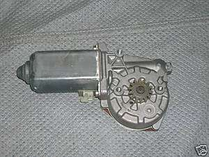 BMW e24 630/633 right front window motor up to 4/78