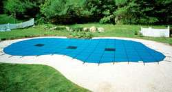 18x36 GREEN MESH Swimming Pool Safety Cover 12 YR
