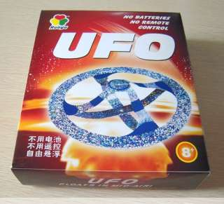 Mystery UFO Floating Flying Saucer Toy Magic Trick#8200