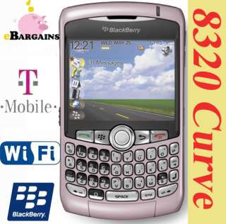 NEW RIM Blackberry Curve 8320 WIFI cell phone T Mobile