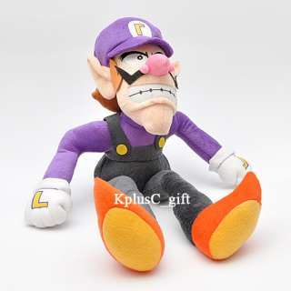 S173 Super Mario Bros Plush Doll Toy Waluigi 18