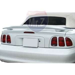 Mustang Custom Spoiler Cobra Factory Style (Unpainted) Automotive