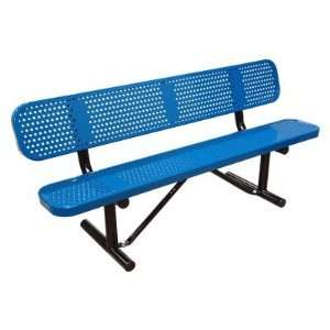 Leisure Craft Standard Perforated Commercial Grade Bench