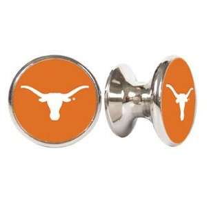 Texas Loghorns NCAA Stainless Steel Cabinet Knobs / Drawer