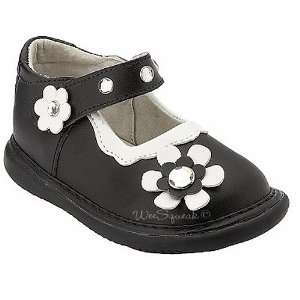 Wee Squeak Baby Toddler Girl Black Crystal Maryjane Shoes 3 12 Baby