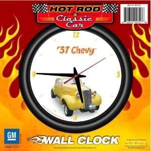 1937 Chevy 12 Wall Clock   Chevrolet, Hot Rod, Classic