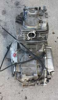 1979 HONDA XR500 COMPLETE ENGINE/MOTOR OEM 500cc FOR PARTS