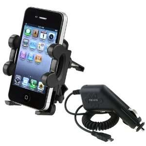 Car Vent Mount Holder+Charger For Samsung Galaxy S2 S 2