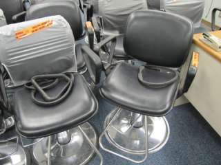 Lot of 15 Hydraulic Barber/Salon Beauty Styling Chairs
