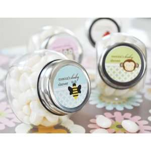 Wedding Favors Baby Animals Personalized Candy Jars (Set
