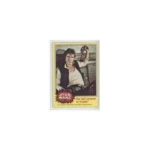 (Trading Card) #162   Han Solo cornered by Greedo