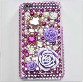 DESIGN RHINESTONE DIAMOND BLING CASE COVER FOR IPHONE 4/4S