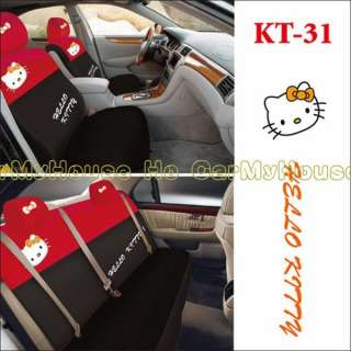 Hello Kitty Thick Car Seat Cover Set 10 pcs KT31