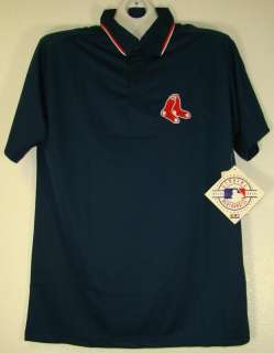 BOSTON RED SOX MLB POLO SHIRT SIZE Large L TALL LT