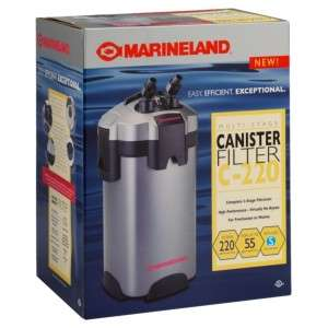 Marineland C Series Multi Stage Canister Filter C 220