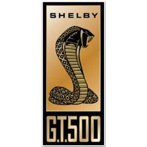 Ford Mustang Shelby GT 500 Car Bumper Sticker Decal 6x2.5