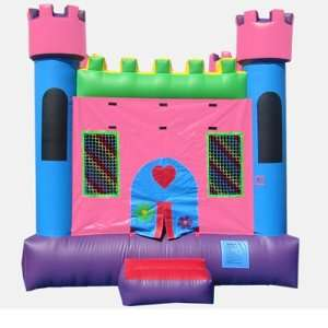 13 Foot Pink Castle 1 Bounce House (Commercial Grade) Toys & Games