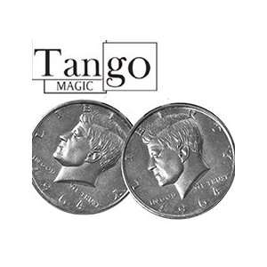 Double Head HALF Dollar   Tango   Money Magic Tric Toys