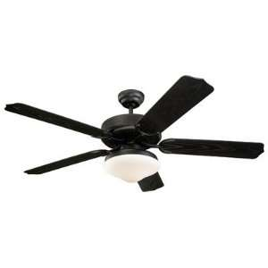 Carlo Fan Company 5WF52BKD 52 Weatherford Deluxe Outdoor Ceiling Fan