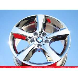 BMW X5Style 210 Set of 4 genuine factory 18inch chrome wheels