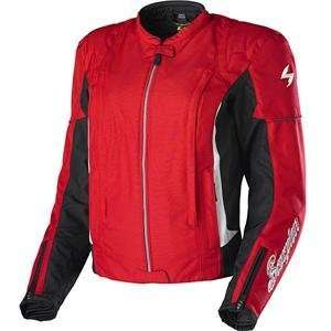 Scorpion Womens Diamond Jacket   X Small/Red Automotive
