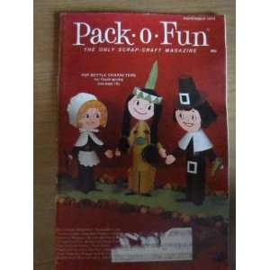 Pack o Fun Scrap Craft Magazine February 1977 Everything