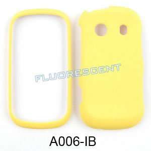 Samsung Seek M350 Fluorescent Solid Yellow Hard Case/Cover