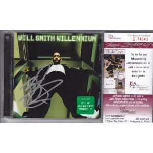 WILL SMITH SIGNED AUTOGRAPHED CD BOOKLET COA JSA Sports