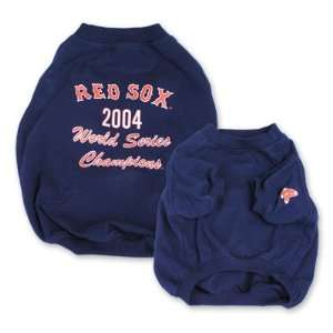 Boston Red Sox Baseball Dog Puppy Pet 2004 Championship