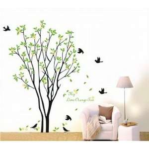 Birds with Quote Wall Sticker Decal for Kids Room Living Room Baby