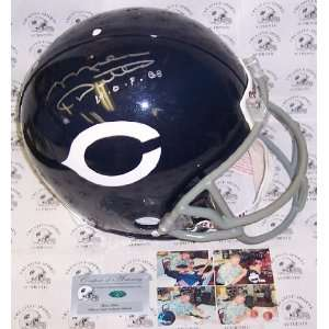 Mike Ditka Autographed Helmet   Authentic Sports