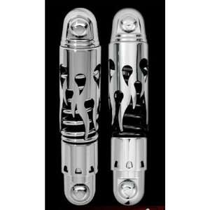 Progressive Suspension 812 Series 11.5 Flame Cut Shocks For Harley