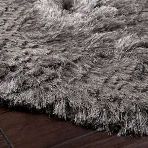 5 x 8 Dunn Pewter Gray Shag Area Throw Rug