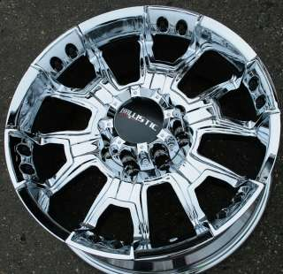 OFF ROAD HAVOC 904 20 CHROME RIMS WHEELS DODGE RAM 2500 8 LUG