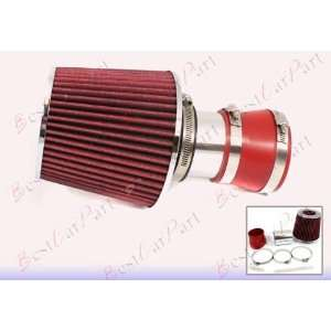 04 05 06 07 08 Grand Prix 3.8 V6 Short Ram Air Intake + red Filter