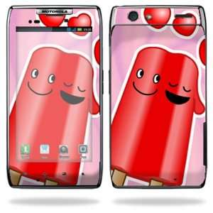 Smart Cell Phone Skins   Popsicle Love Cell Phones & Accessories